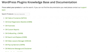 HelpScout Docs Collection list of Categories