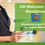 CM welcome and disclaimer plugin- CM Wordpress toolkit